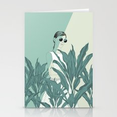 The Blue Nature Stationery Cards