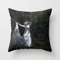 Songs Of The Moon Throw Pillow