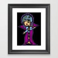 Mary Daisy Framed Art Print