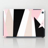 Blush Mod Triangles 2 iPad Case