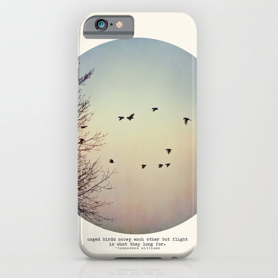Caged Birds iPhone & iPod Case