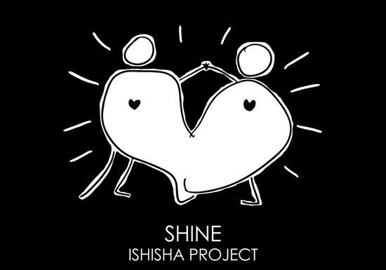 SHINE by ISHISHA PROJECT Art Print