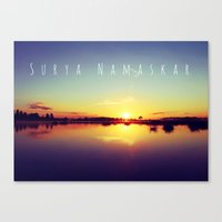 Surya Namaskar II Canvas Print