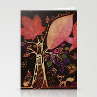 Magic Forest Stationery Cards