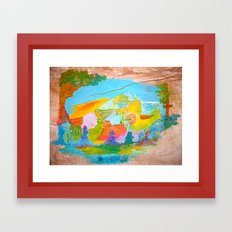 M4wu4l Framed Art Print