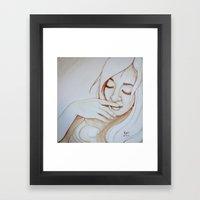 I Wonder To Myself Framed Art Print