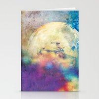 The MOON 3 Stationery Cards