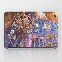 Notre Dame interior iPad Case