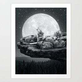 Art Print - Echoes of a Lullaby - soaring anchor designs
