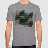 Aronde Pattern #03 Mens Fitted Tee Athletic Grey SMALL