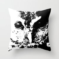 Black Eye Throw Pillow
