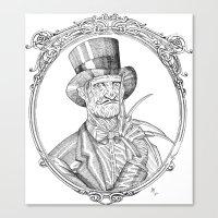 Fancy Freddy Canvas Print