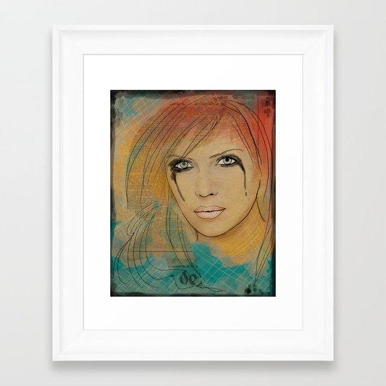 Turmalina Framed Art Print
