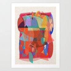 The Mix Art Print