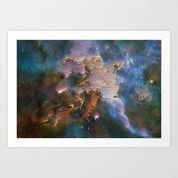 Carina Nebula Art Print