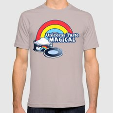 Magically Delicious Mens Fitted Tee Cinder SMALL