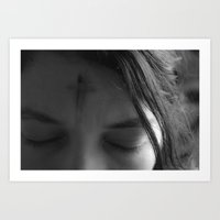 The Sign Of The Cross  Art Print