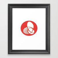 KW Logo Framed Art Print