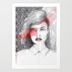 true blood Art Print