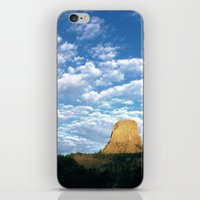 Devils Tower, WY iPhone & iPod Skin