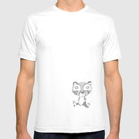 Vincent Mens Fitted Tee White SMALL