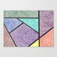 Shapeliness Canvas Print