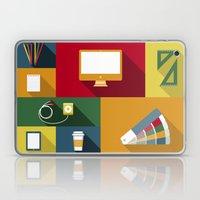 Designer flat tools Laptop & iPad Skin