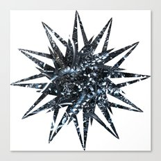 Metal Star Canvas Print