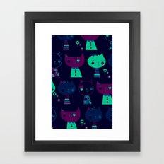 Here Kitty Kitty Framed Art Print
