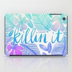 Killin' It – Turquoise + Lavender Ombré iPad Case