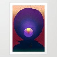 Spelunk Emergence  Art Print