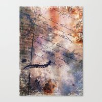 Centipede Canvas Print