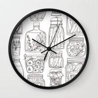 Pickles Print Wall Clock