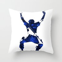 More Than a Conqueror Throw Pillow