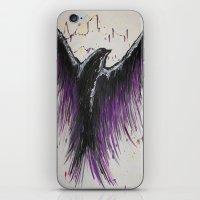 Royal Purple Soaring Bir… iPhone & iPod Skin
