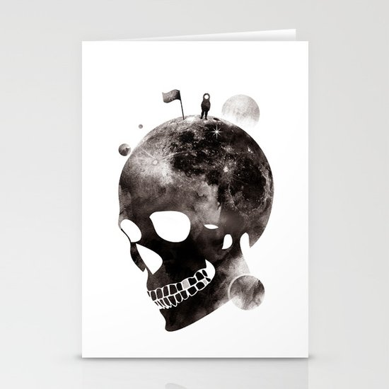 the darkest side Stationery Card