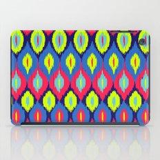 Neon Ikat iPad Case