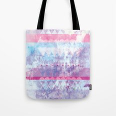 Faded Tote Bag