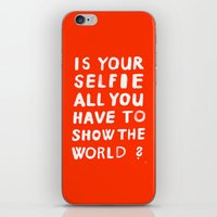 YOUR SELFIE iPhone & iPod Skin
