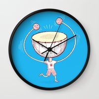Rat A Tat Tat Wall Clock