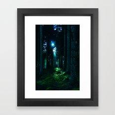 Shaft of Light Framed Art Print