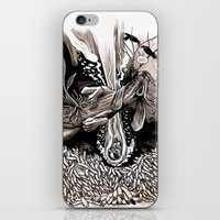 A dream of plague dogs iPhone & iPod Skin