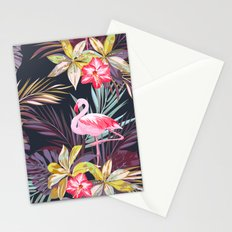 Flamingo purple Stationery Cards