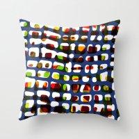 Grid Pattern Throw Pillow