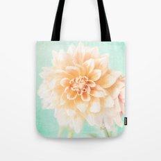 Flower Peachy Bloom Tote Bag