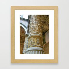 Florentine Pillar Framed Art Print