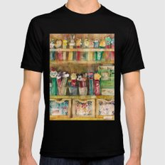 Pez Collection Black SMALL Mens Fitted Tee