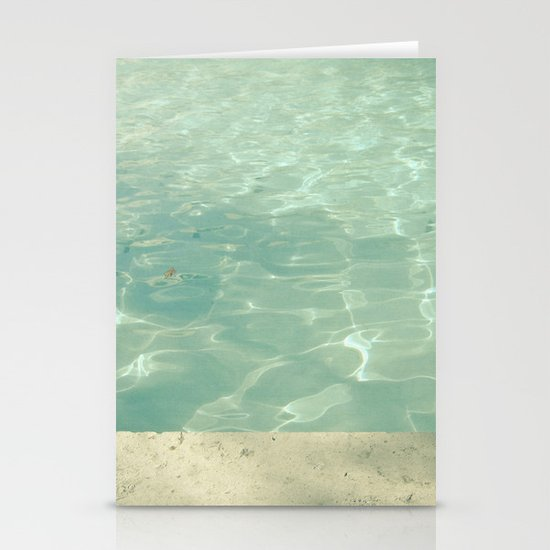 Morning Swim Stationery Card