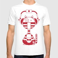 Scat 2 Mens Fitted Tee White SMALL