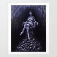 WULF Art Print